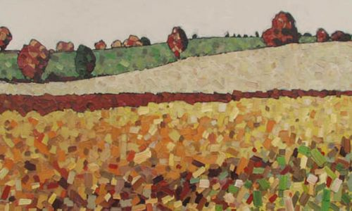 David Grieve Artist, Autumn Field 24x48