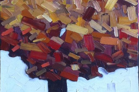 David Grieve Artist, Autumn Hope 30x15