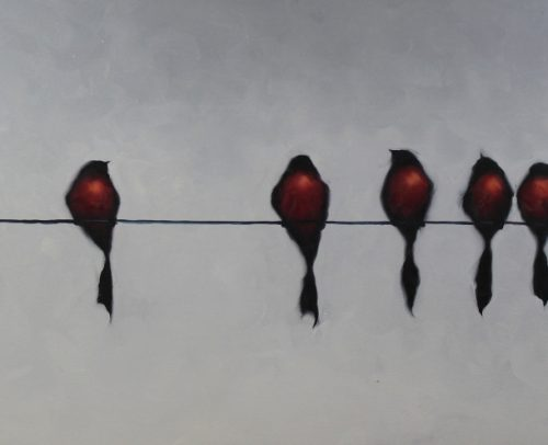 Harold Braul Artist, Nine in a Row 24x48