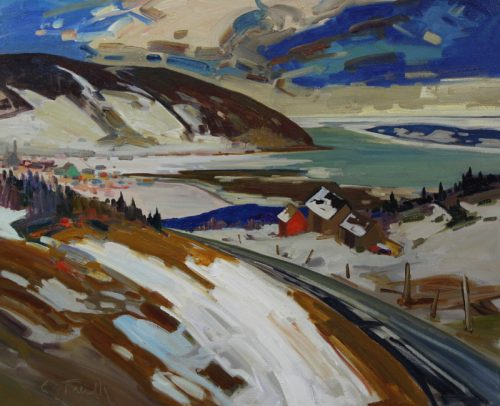 Louis Tremblay Artist Baie St Paul 20x24