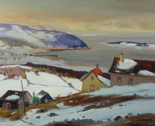 Louis Tremblay Artist Baie St Paul 24x30