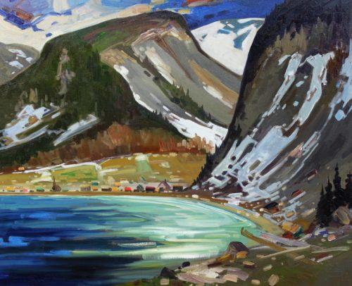Louis Tremblay Artist Mt St_Pierre Gaspesie 24x30