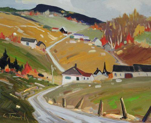 Louis Tremblay Artist Sauveur d'automne 11x14