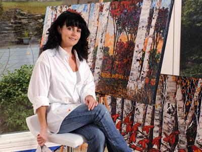 Artist Maya Eventov