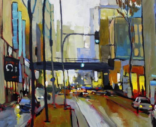 Sacha Artist, Montreal City 24x24