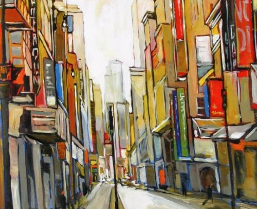 Sacha Artist, Urbaine-40x40